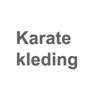 Karate kleding
