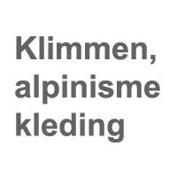 Klimmen, alpinisme kleding
