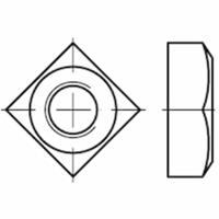 vierkant moeren