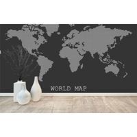 wereldkaart fotobehang