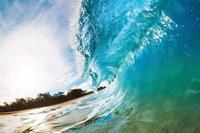 strand, zee fotobehang