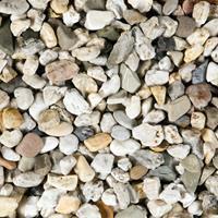 Grind, split, zand