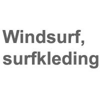 Windsurfkleding, surfkleding