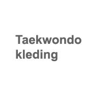 Taekwondo kleding