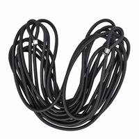 Pro Plus Aanhangernet elastiek 7 meter Zwart
