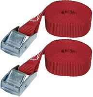 Klemband Trekkracht (lc) vastbinden (enkel/direct)=62 daN (l x b) 2.5 m x 25 mm LAS 10321
