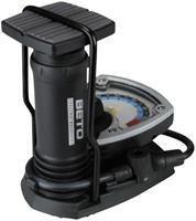 Voetpomp7barUnitec85575Dubbelekop,AnalogeManometer