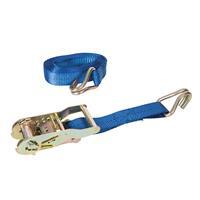 Silverline 350060 Spanband - Getest 400 kg - Capaciteit 1200 kg - 4m x 27mm