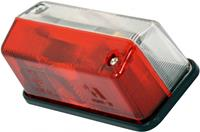 Carpoint breedtelicht 12 Volt rechthoek 95 mm rood/wit