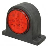 Carpoint breedtelicht rechts 67 mm rood/wit