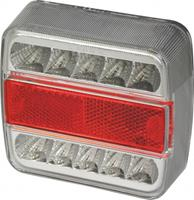 Carpoint achterlicht met 5 functies 12 Volt led 108 x 98 mm