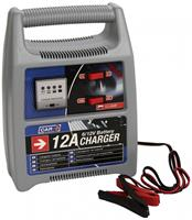 Car Plus acculader 6 12 Volt 12 Amp grijs