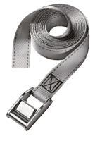 masterlock Master Lock 3112EURDAT Spanband - Grijs - 250kg - 5m x 25mm