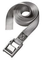 masterlock Master Lock 3110EURDAT Spanband - Grijs - 250kg - 2,5m x 25mm (2st)