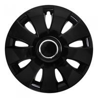 ProPlus wieldoppen Fox 14 inch zwart set van 4