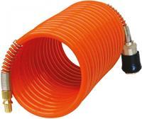 carpoint luchtslang voor compressor 4 meter oranje