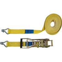 Spanband (tweedelig) Trekkracht (lc) vastbinden (enkel/direct)=2500 daN (l x b) 10 m x 50 mm Petex 43193019
