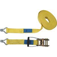 Spanband (tweedelig) Trekkracht (lc) vastbinden (enkel/direct)=2500 daN (l x b) 8 m x 50 mm Petex 43193219