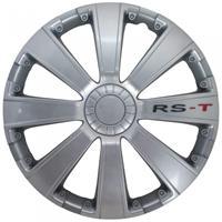 AutoStyle wieldoppen RS T 14 inch ABS zilver set van 4