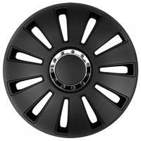 AutoStyle wieldoppen Silverstone Pro 13 inch ABS zwart set van 4