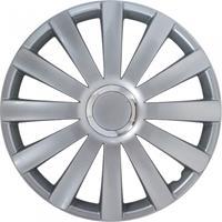 AutoStyle wieldoppen Spyder 13 inch ABS zilver set van 4