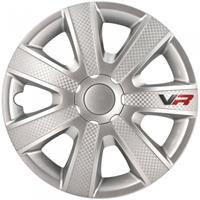 AutoStyle wieldoppen VR 13 inch ABS zilver set van 4