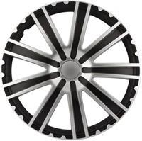 AutoStyle wieldoppen Toro 13 inch ABS zwart/zilver set van 4