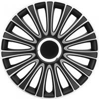 AutoStyle wieldoppen LeMans 14 inch ABS zwart/zilver set van 4