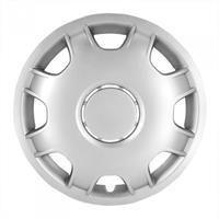 AutoStyle wieldoppen Van (bol) 15 inch ABS zilver set van 4