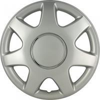 AutoStyle wieldoppen Florida 13 inch ABS zilver set van 4