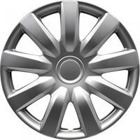 AutoStyle wieldoppen Alabama 14 inch ABS gunmetal set van 4