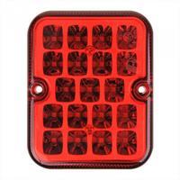 ProPlus mistachterlicht 12 Volt led 10 x 8 cm rood in blister