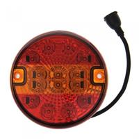 ProPlus achterlicht 3 functies 14 cm led 5 pin rood in blister