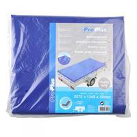 ProPlus aanhangerzeil 257,5 x 134,5 x 5 cm blauw 500gr/m²