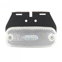 ProPlus markeringslamp 10/30V wit 110 mm led met houder in blister