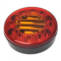 ProPlus achterlicht 10/30V 3 functies 122 mm led rood
