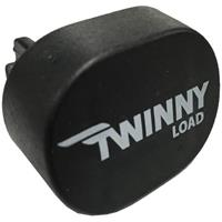 Twinnyload eindkap voor aluminium dakdragers zwart per stuk