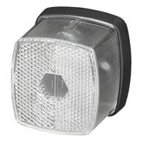 Pro+ Markeringslamp wit 66x62mm met reflector