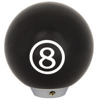 Autostyle pookknop 8-ball - Zwart