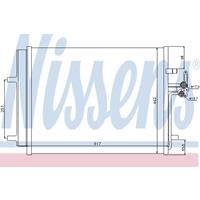 Kondensator, Klimaanlage | NISSENS (940043)