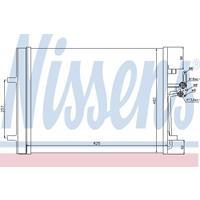 Kondensator, Klimaanlage | NISSENS (940044)