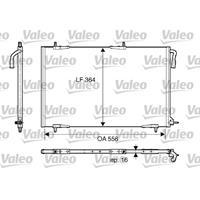 Kondensator, Klimaanlage | VALEO (818000)