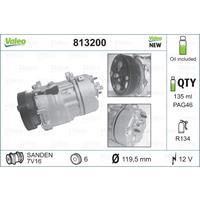 Compressor, airconditioning Valeo, 135, ml, 12 V