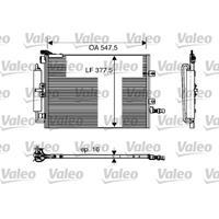 Kondensator, Klimaanlage | Valeo (818166)