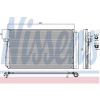 Kondensator, Klimaanlage | NISSENS (94747)