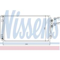 Kondensator, Klimaanlage | NISSENS (940236)