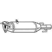 Ruß-/Partikelfilter, Abgasanlage 'EVO C' | WALKER (73164)