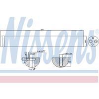 Trockner, Klimaanlage | NISSENS (95342)