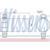 Trockner, Klimaanlage | NISSENS (95324)