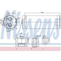 Trockner, Klimaanlage | NISSENS (95352)